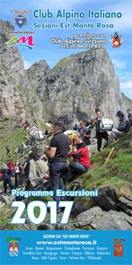 Programma escursioni 2017 Club Alpino Italiano Sezioni Est Monte Rosa