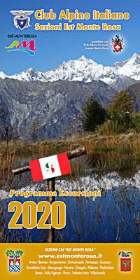 Programma escursioni 2019 Club Alpino Italiano Sezioni Est Monte Rosa