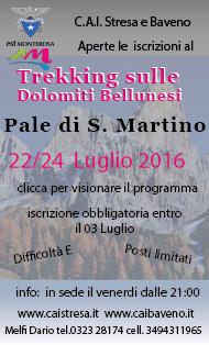 Trekking alle Pale di S. Martino